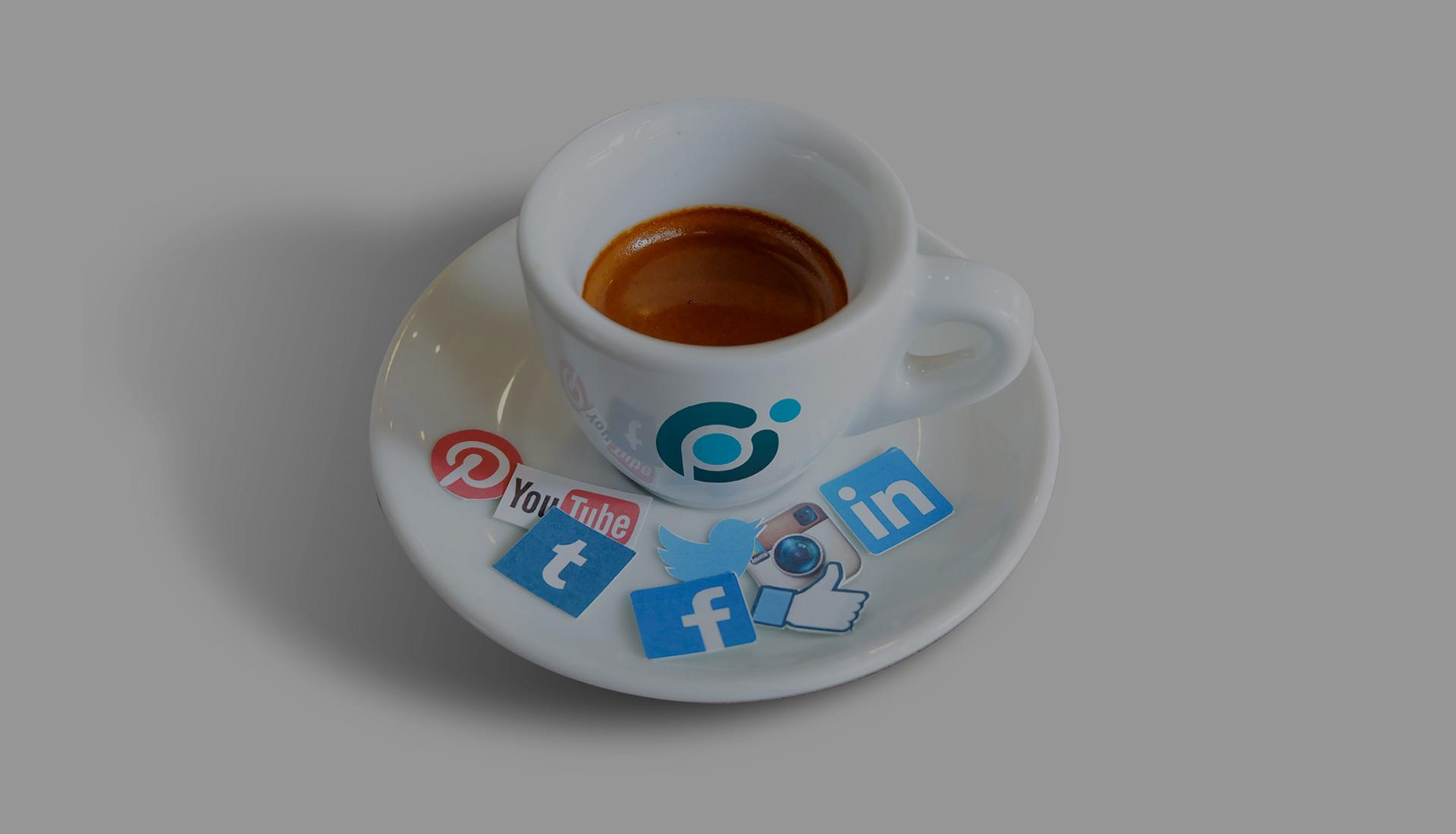 Sozialen Medien.